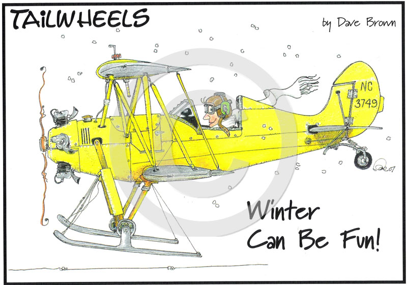 Tailwheels Art Winter Fun